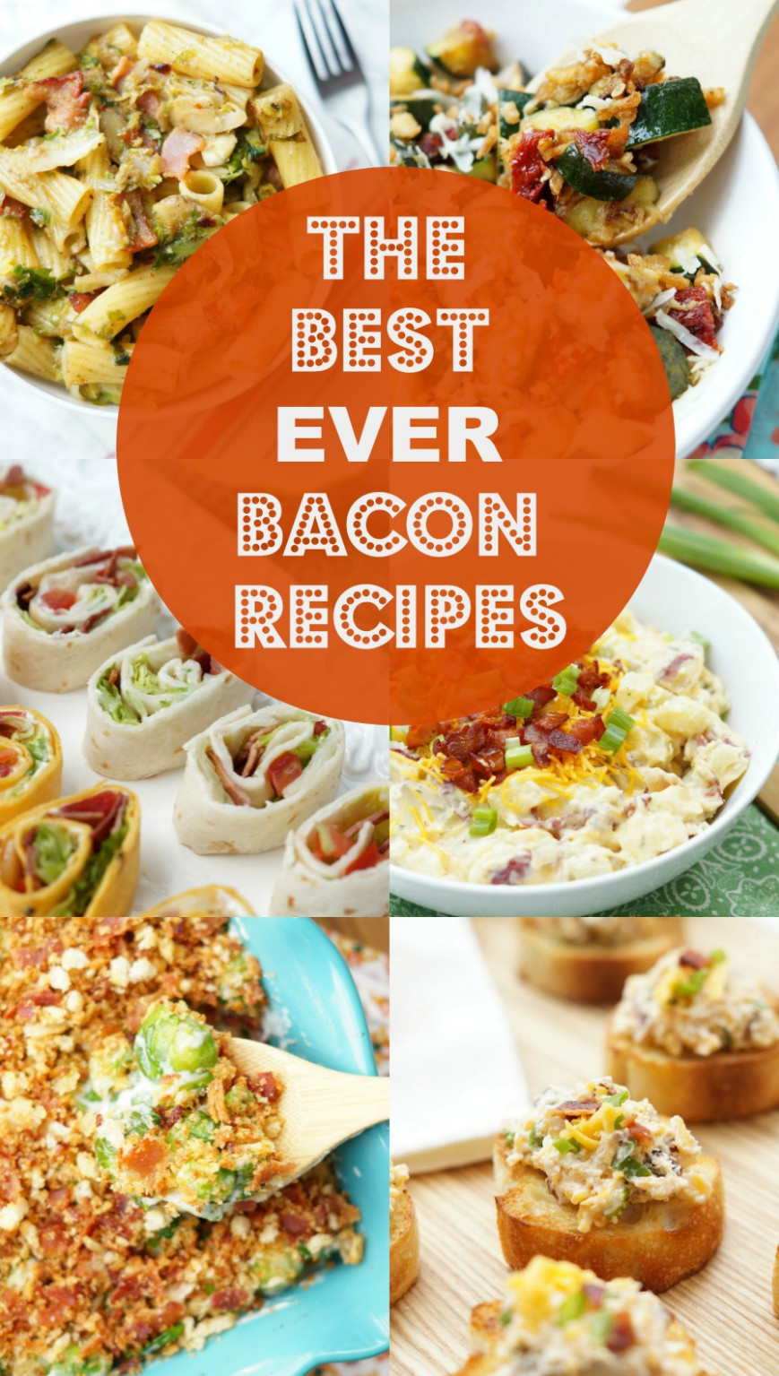 Best Bacon Recipes Ever - dinner recipes bacon