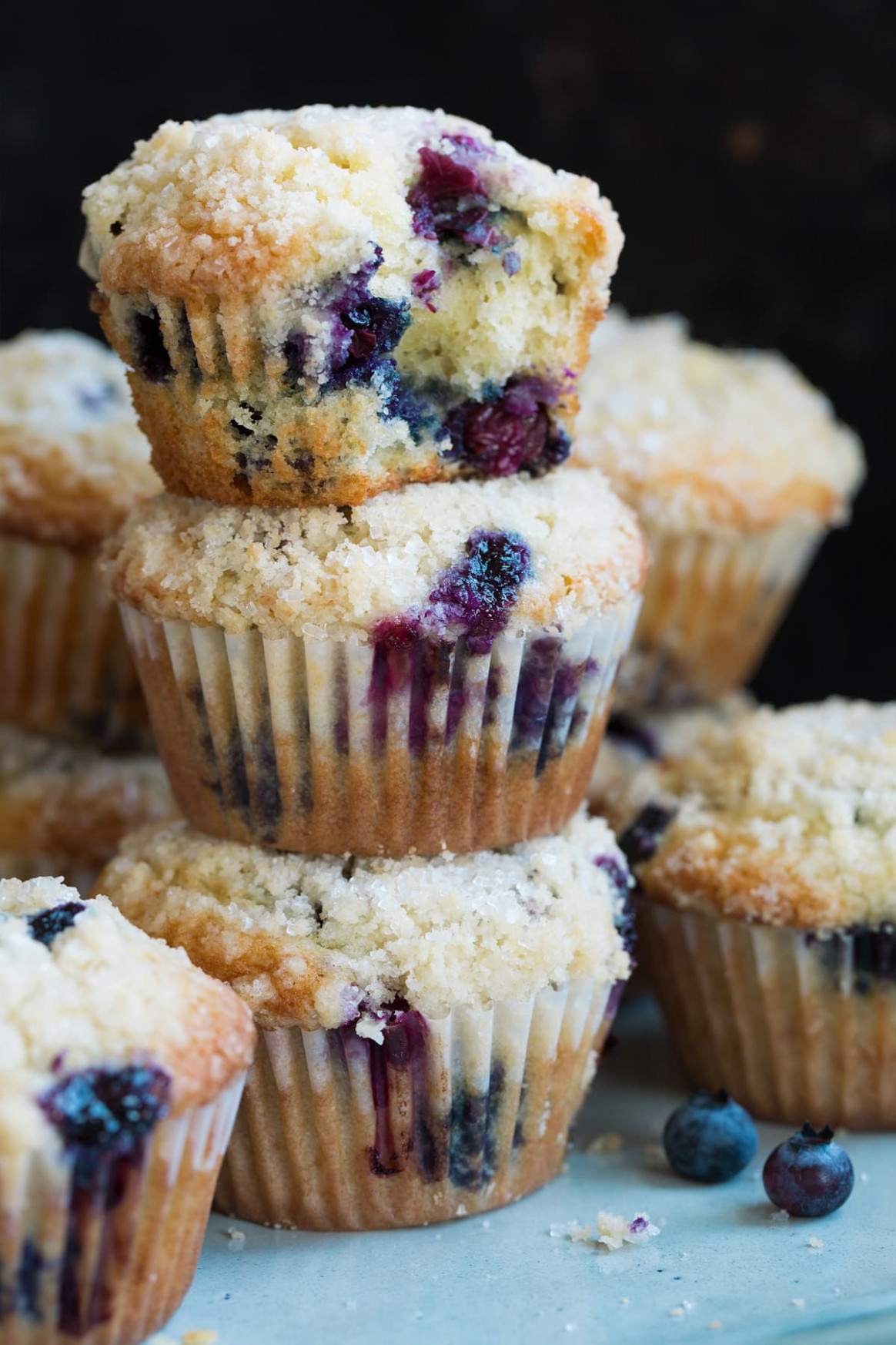 Best Blueberry Muffins Recipe - Cooking Classy - recipes blueberry muffins healthy