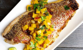 Best Broiled Snapper With Mango Salsa Recipe How To Make ..