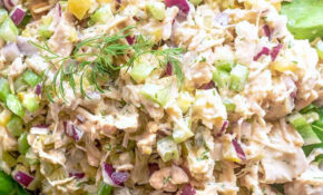 BEST Canned Chicken Salad Recipe, With Dill Pickles + Red ..
