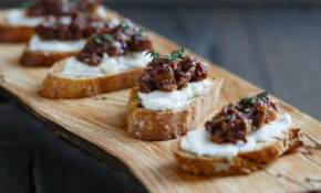 Best Crostini With Goat Cheese And Fig Olive Tapenade ..