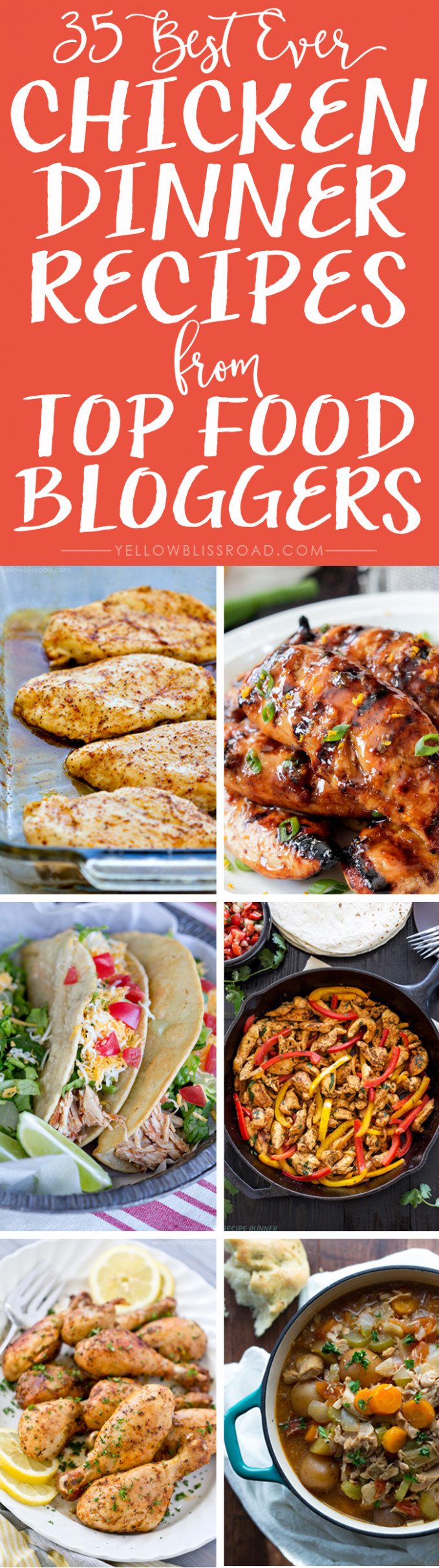 Best Ever Chicken Recipes from Top Food Bloggers ..
