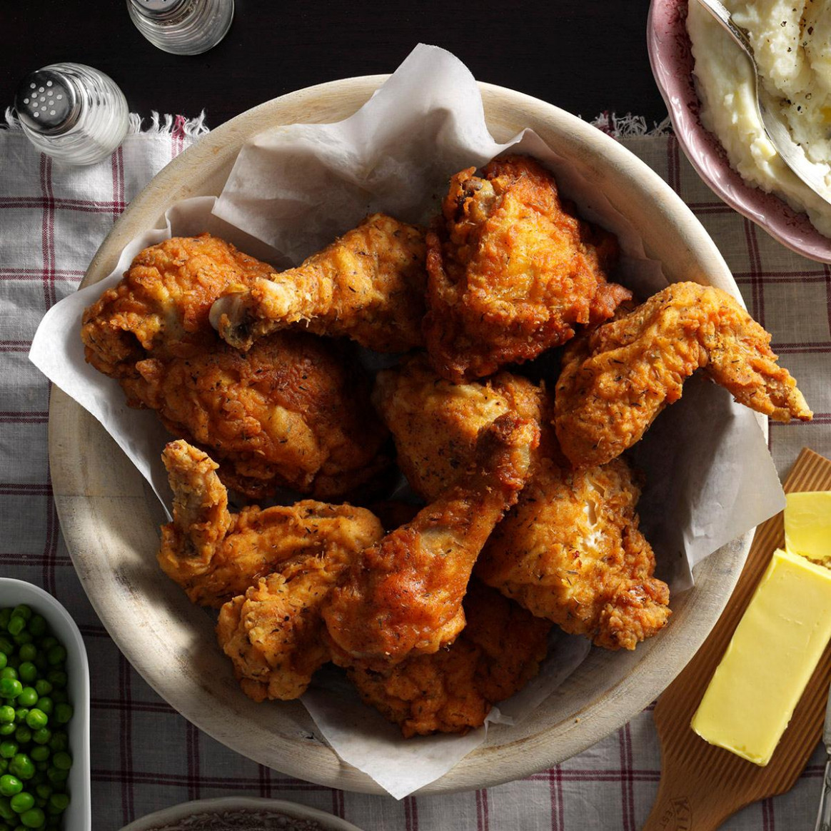 Best-Ever Fried Chicken Recipe | Taste of Home - chicken recipes taste