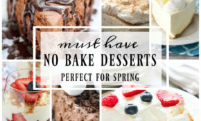 Best Ever No Bake Dessert Recipes – Yummy Healthy Easy – Healthy Recipes Yummy