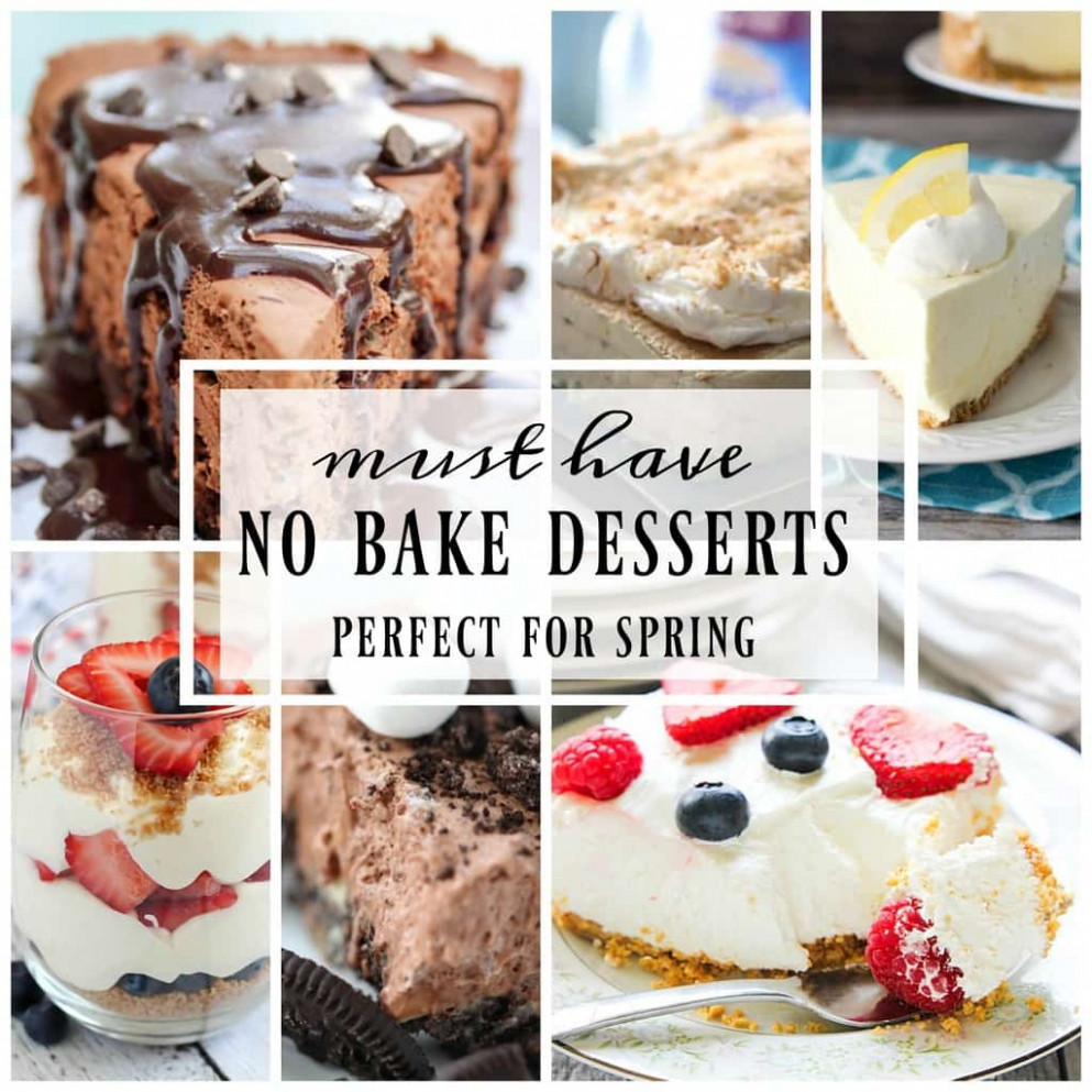 Best Ever No Bake Dessert Recipes - Yummy Healthy Easy - healthy recipes yummy
