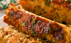 Best Ever Vegan Meat Loaf – Recipe Vegetarian Meatloaf