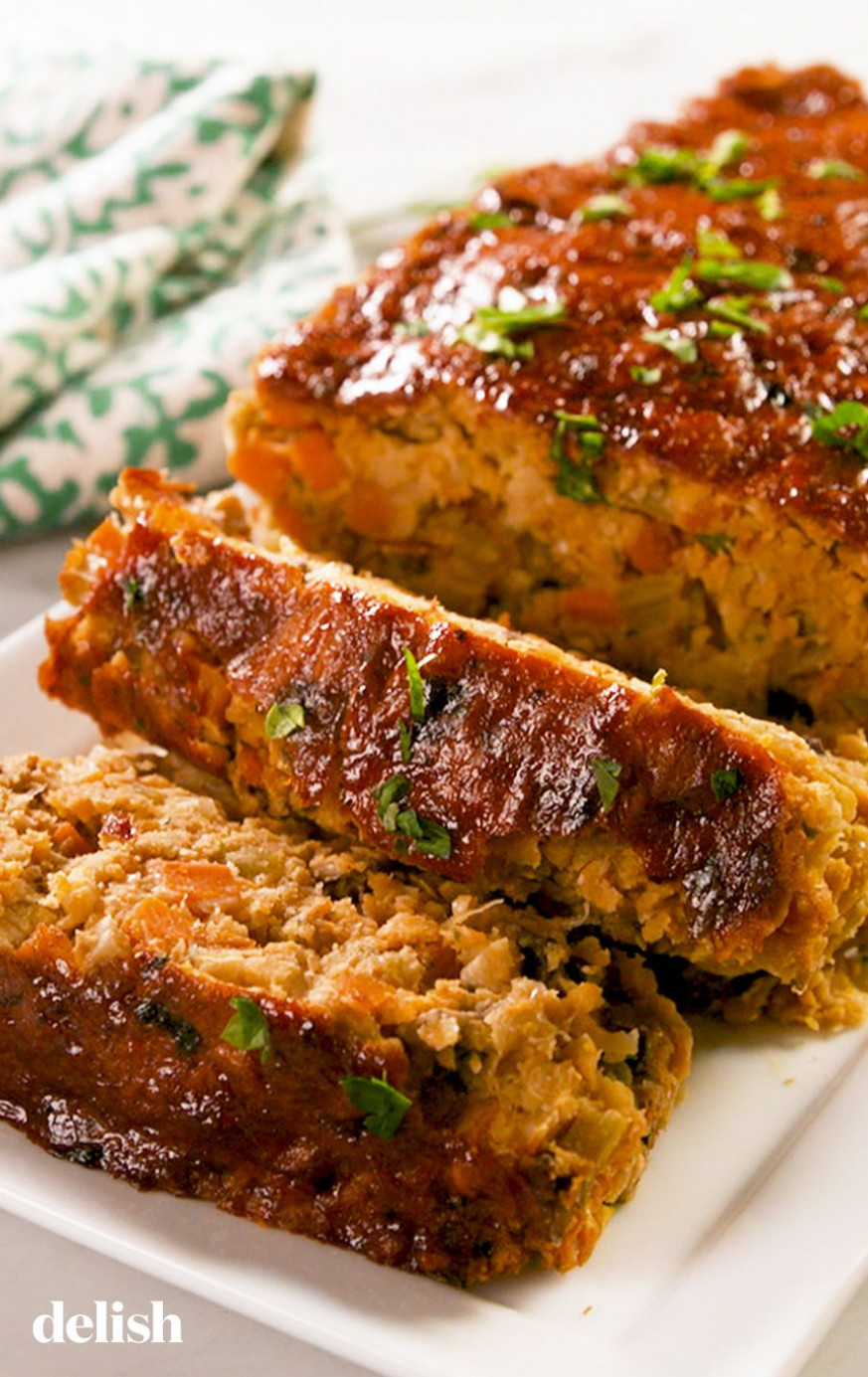 Best-Ever Vegan Meat Loaf - recipe vegetarian meatloaf