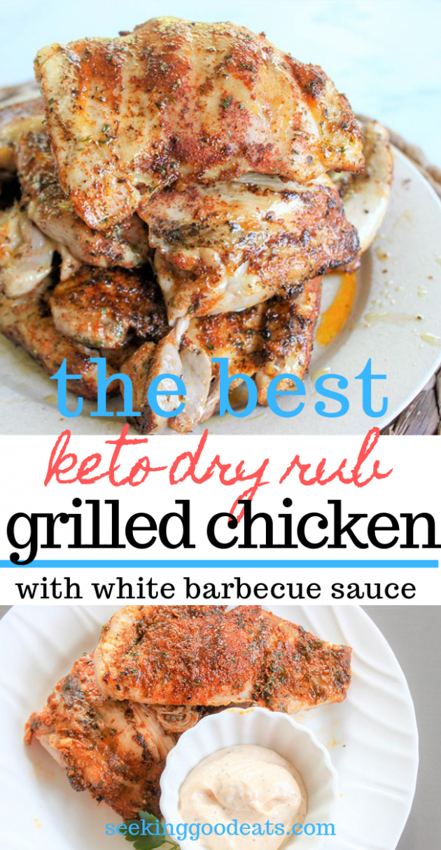 Best Grilled Chicken Recipe (Dry Rub Grilled Chicken With White Barbecue  Sauce) - chicken recipes dry