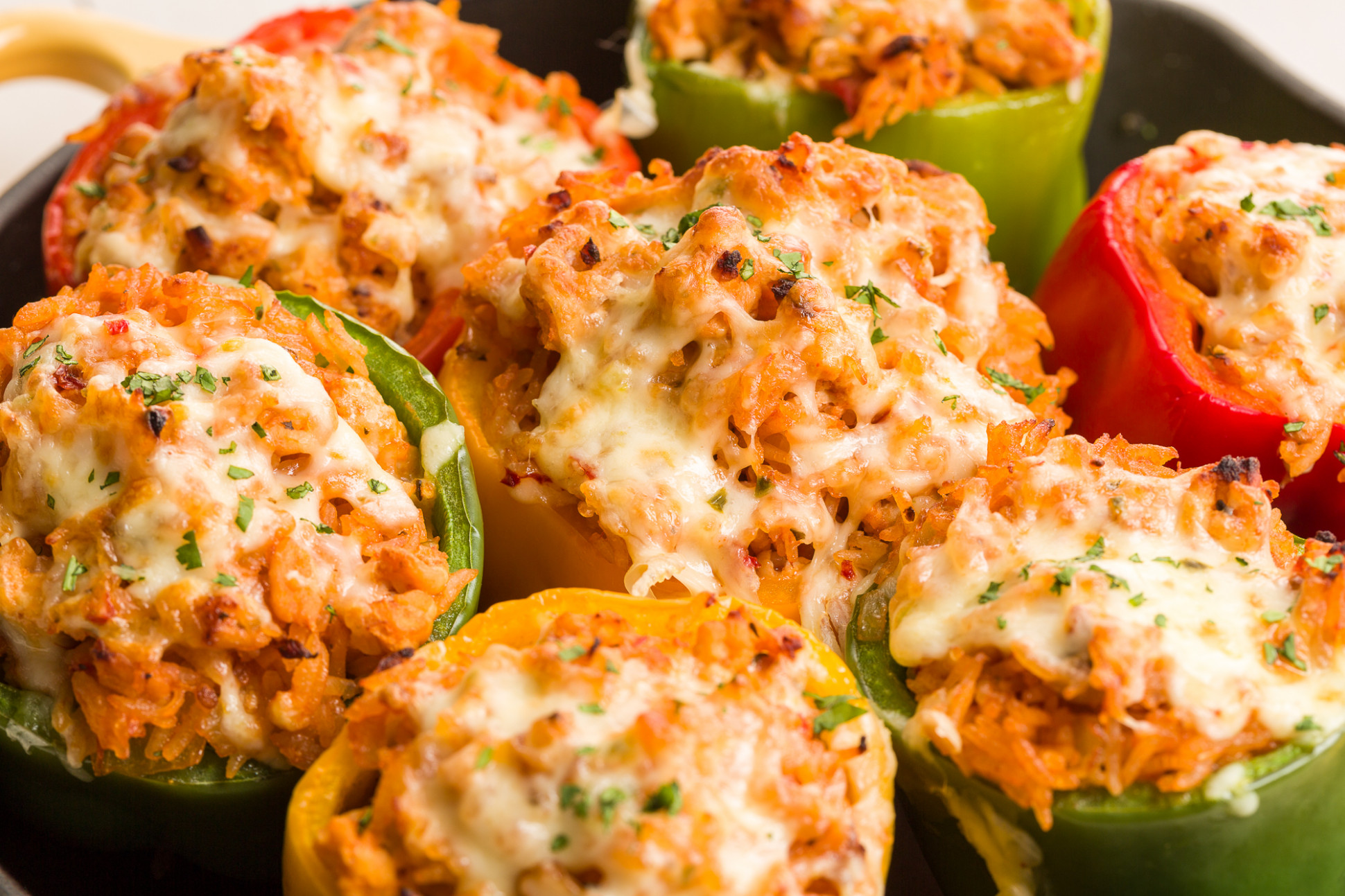 Best Ground Turkey Stuffed Peppers Recipe - How to Make ..