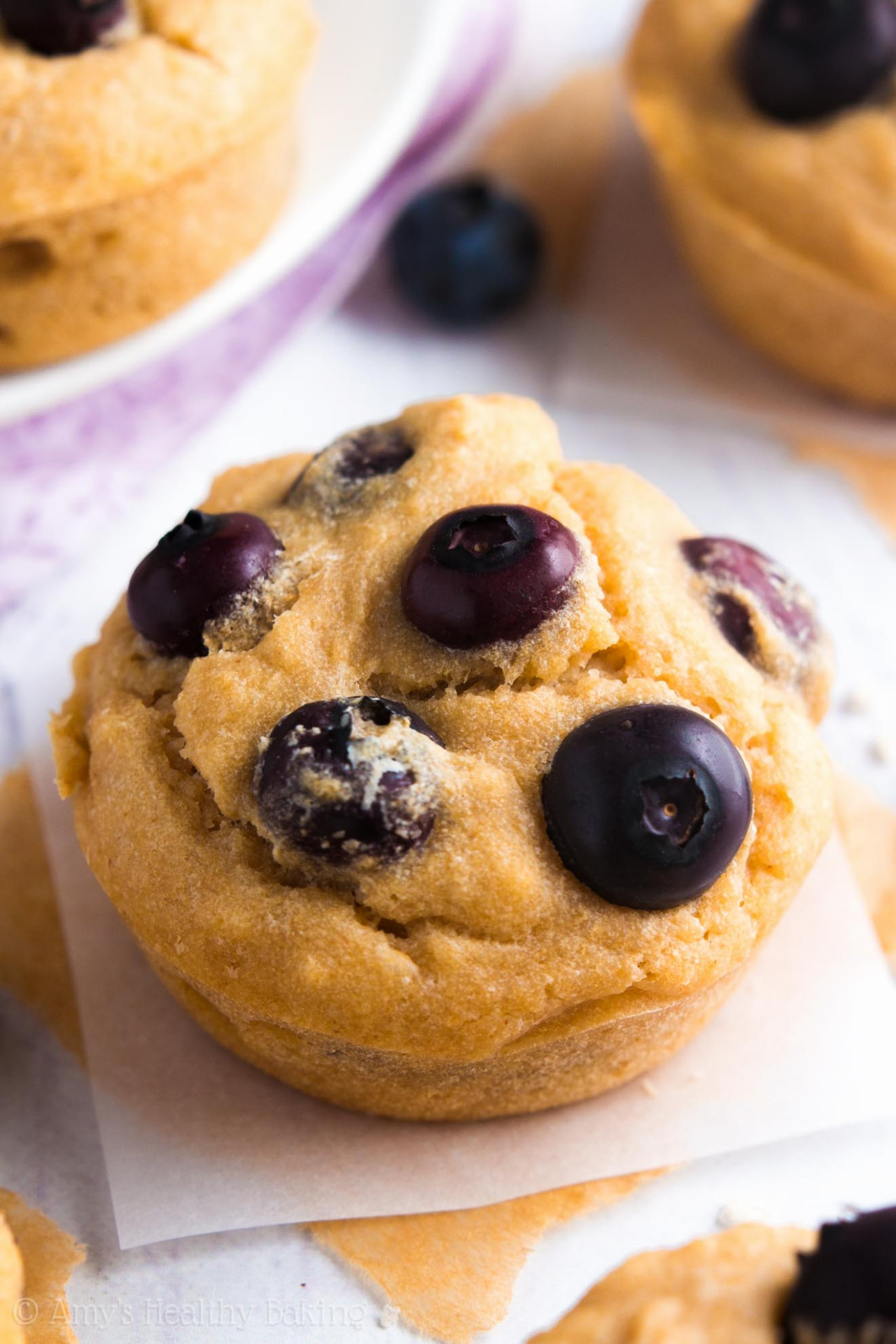 best healthy blueberry muffin recipe - recipes muffins healthy