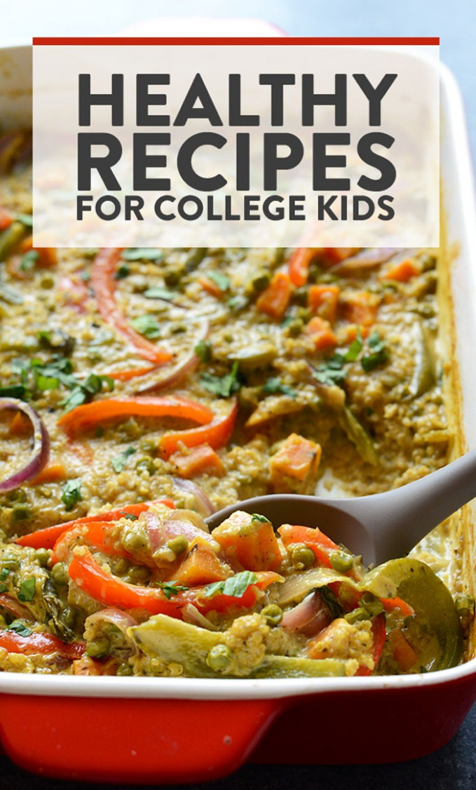 Best Healthy College Meals (budget-friendly) - Fit Foodie Finds - recipes eating healthy on a budget