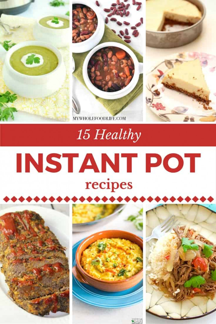 Best Healthy Pressure Cooker Recipes Instant Pot Home ..