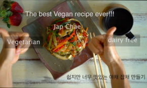 Best Japchae Recipe Vegan Recipe #vegetarian#dairyfree ..