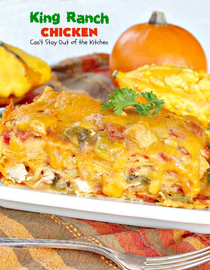 best king ranch chicken casserole ever - recipes king ranch chicken