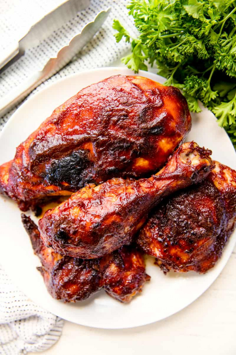 Best Oven Baked BBQ Chicken - barbecue recipes chicken