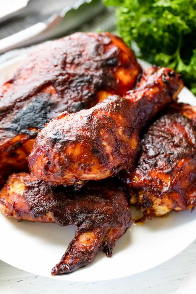Best Oven Baked BBQ Chicken - bbq recipes chicken
