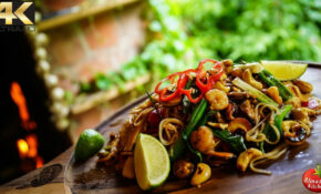 BEST PAD THAI! – COOKING IN OASIS – YouTube – Thai Food Recipes Youtube