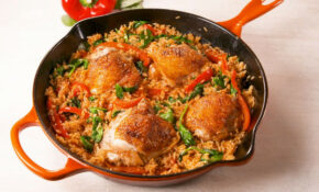 Best Paprika Chicken & Rice Recipe – How To Make Paprika ..
