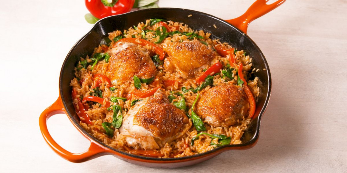 Best Paprika Chicken & Rice Recipe - How to Make Paprika ..