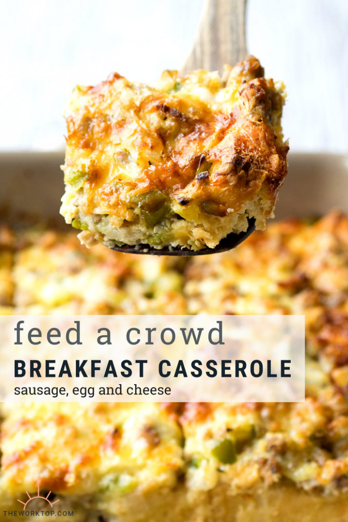 Best Sausage and Egg Breakfast Casserole (make ahead recipe ..