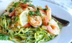 Best Shrimp Scampi Zoodles Recipe – Delish