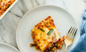 Best Vegetable Lasagna Recipe – Cookie And Kate – Recipes Of Vegetables For Dinner