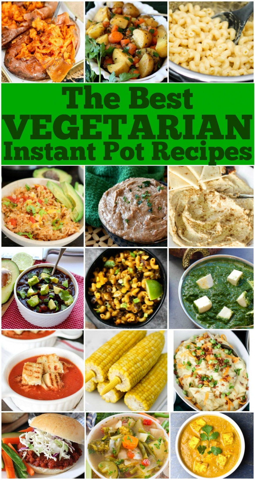 Best Vegetarian Instant Pot Recipes • Domestic Superhero - instant pot recipes healthy vegetarian