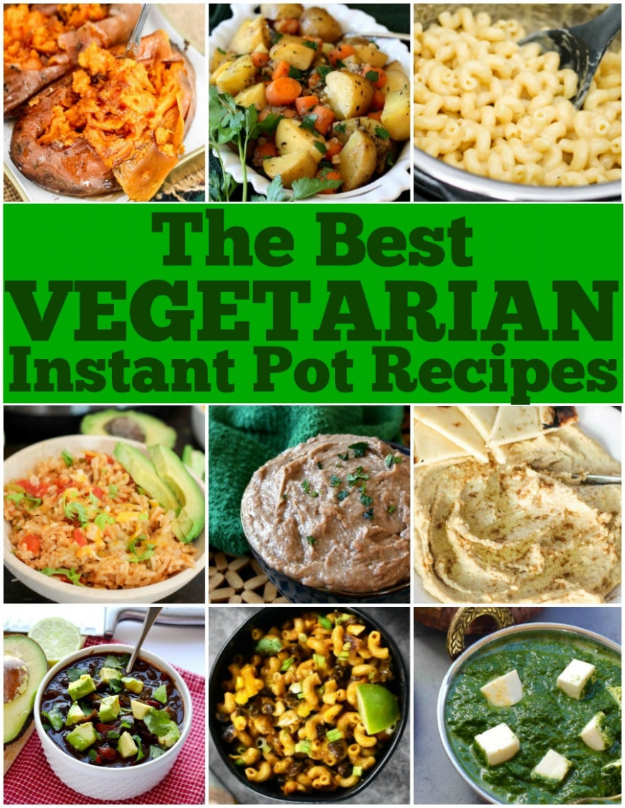 Best Vegetarian Instant Pot Recipes • Domestic Superhero - recipes vegetarian lunch