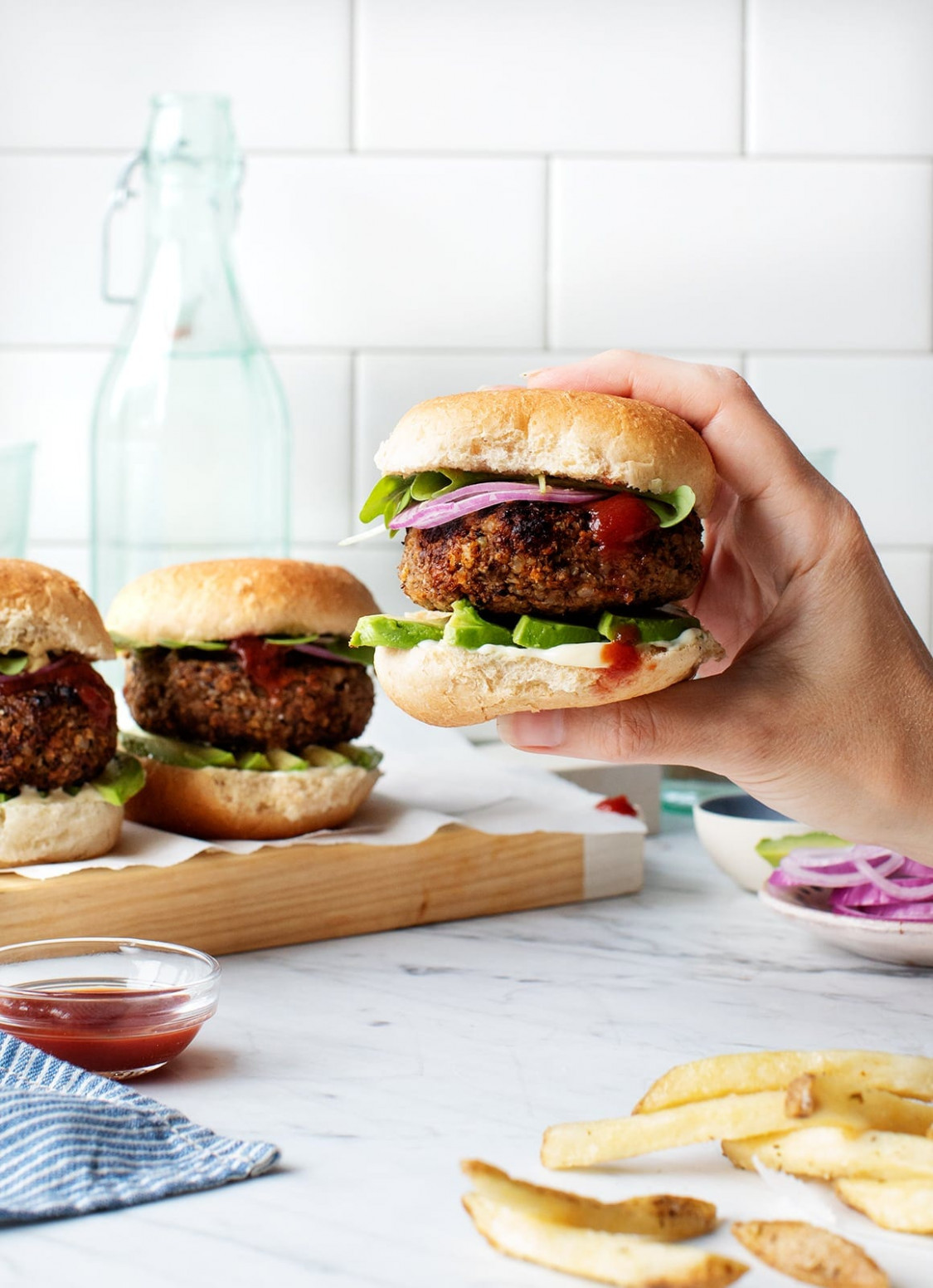 Best Veggie Burgers - Urban Vegetarian Recipes