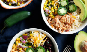 Better Than Chipotle DIY Chicken Burrito Bowls | Ambitious ..