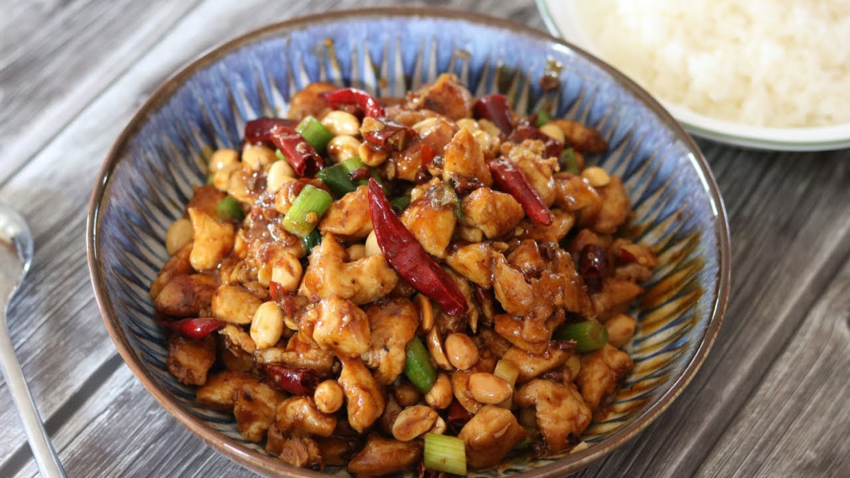 BETTER THAN TAKEOUT - Kung Pao Chicken - recipes kung pao chicken