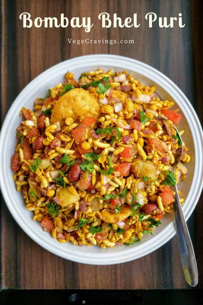Bhel Puri Recipe | Mumbai Bhel Puri - quick indian food recipes
