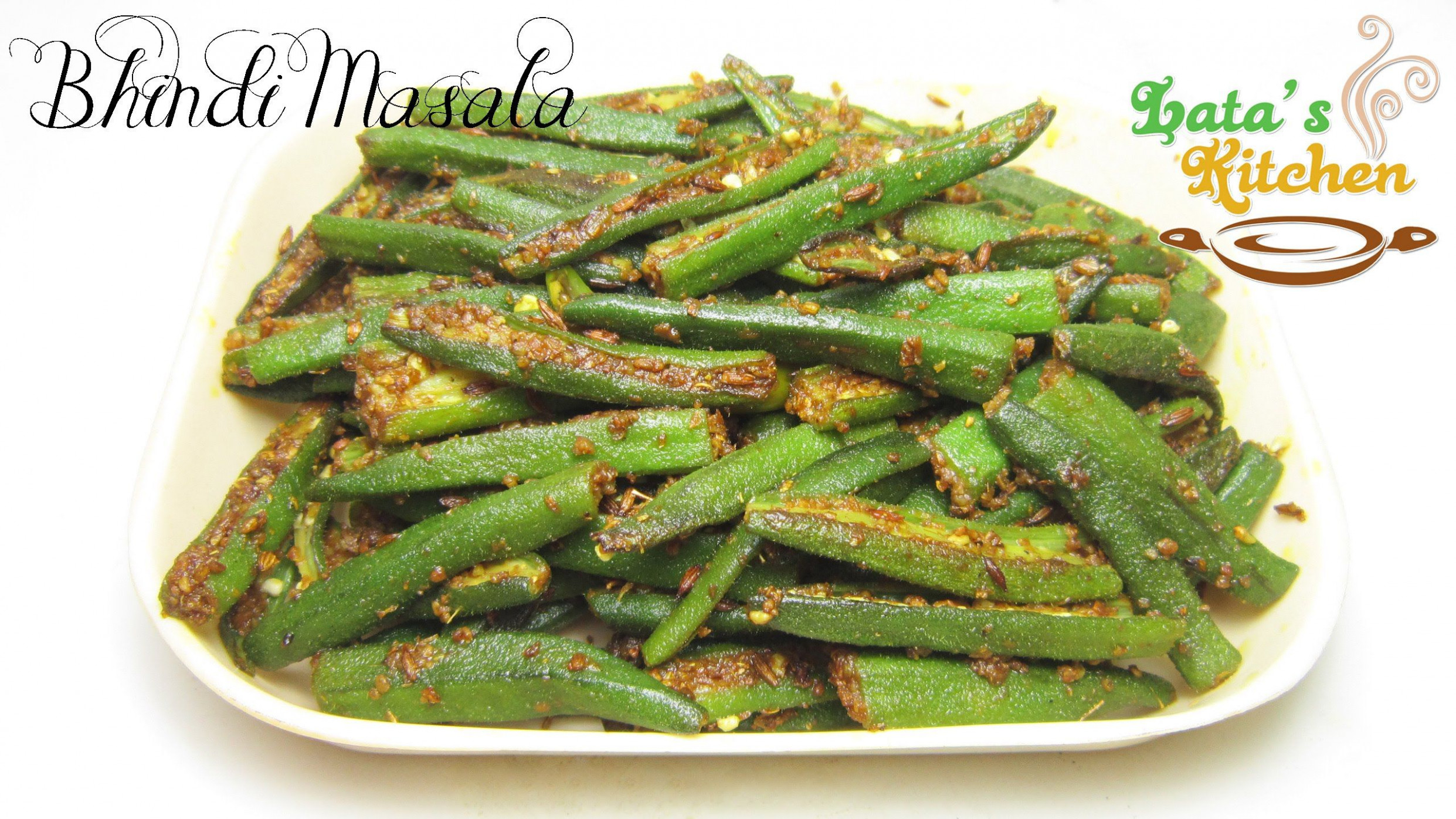 Bhindi Masala Recipe ( Okra Masala ) — Indian Vegetarian ..