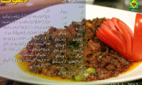 Bhuna Hua Keema Urdu & English Recipe By Chef Zakir Masala TV – Chicken Recipe Zakir Chef