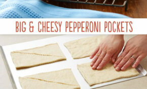 Big & Cheesy Pepperoni Pockets | Recipe | Pizza Recipes ..
