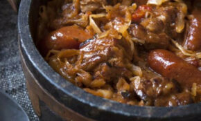 Bigos Stew  National Dish Of Poland (sauerkraut And Meat ..