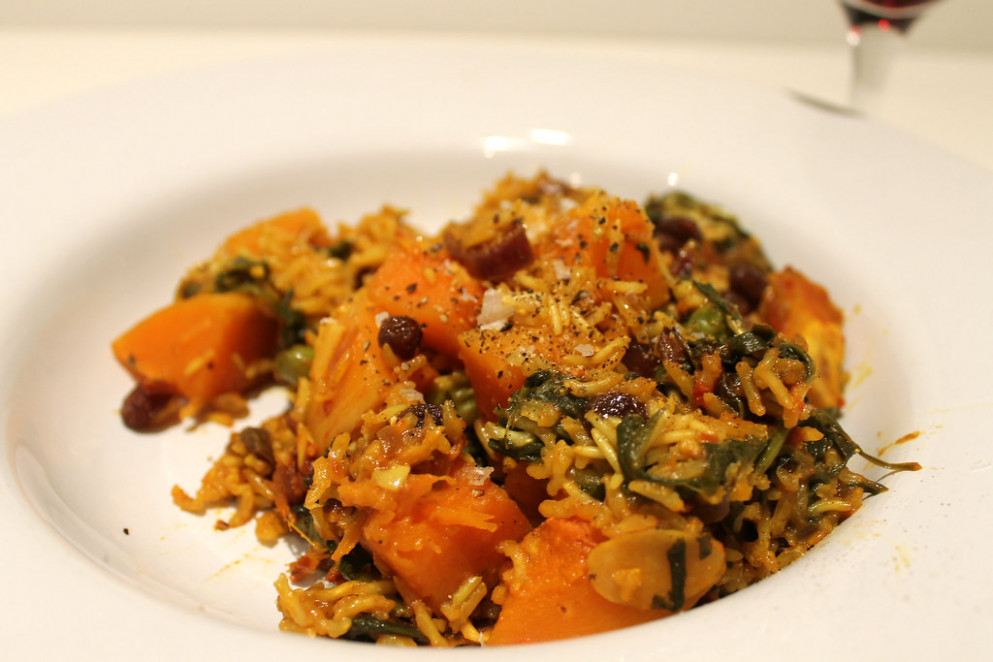 Biryani - recipes of vegetarian dishes