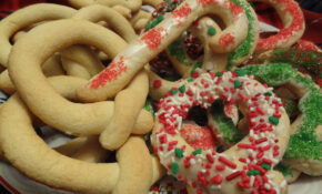 Biscoitos De Natal – Christmas Biscuit Cookies – Portuguese Food Recipes