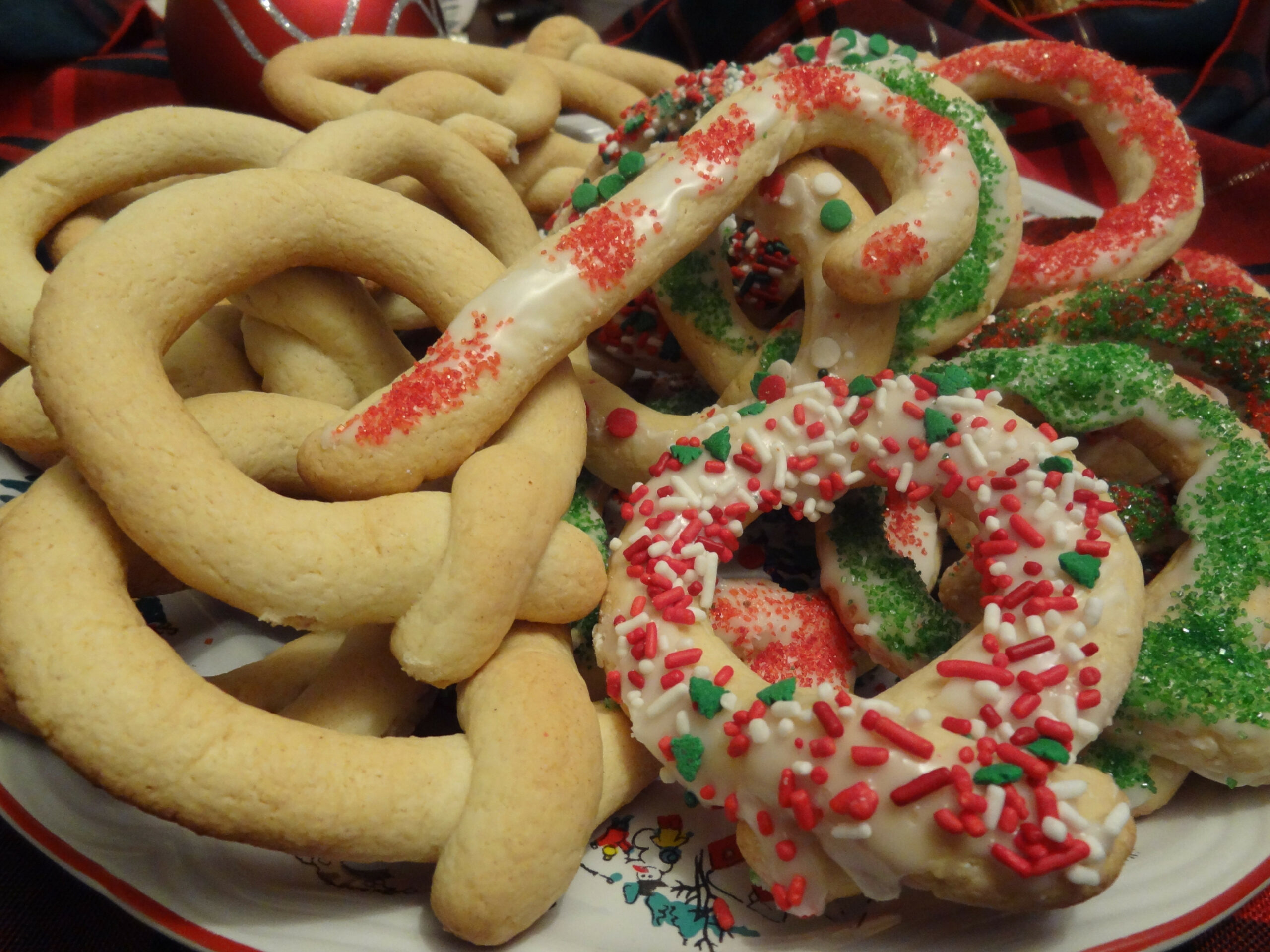 Biscoitos de Natal - Christmas Biscuit Cookies - portuguese food recipes