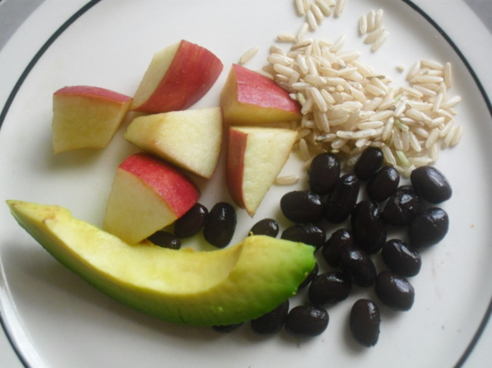 Black Bean and Brown Rice Dinner - a Vegetarian Baby Food ..