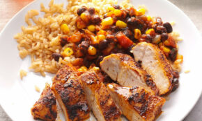 Black Bean Chicken With Rice – Easy Dinner Recipes Rice