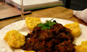 Black Bean Chilli With Polenta – Recipes With Gnocchi Vegetarian