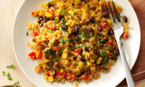 Black Bean & Corn Quinoa – Recipes Quick Healthy Dinner