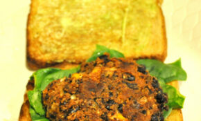 Black Bean Patty For Black Bean Burger Goodness! – Recipes That Freeze Well Healthy