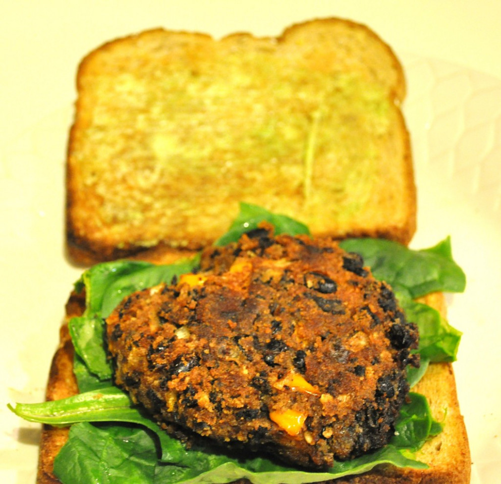 Black Bean Patty for Black Bean Burger Goodness! - recipes that freeze well healthy