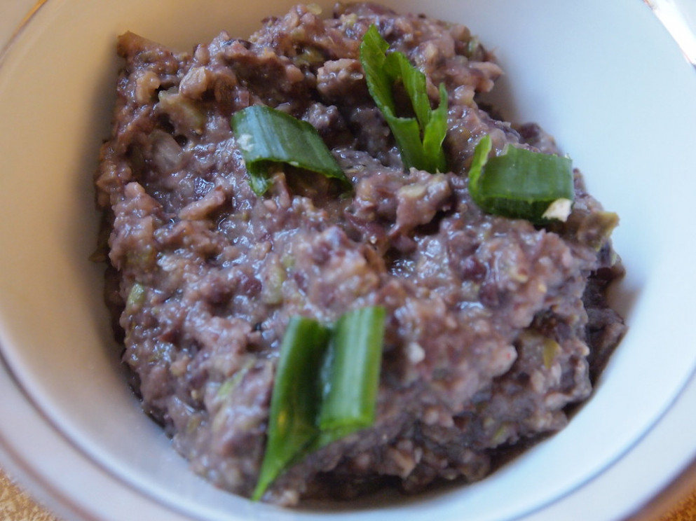 Black Bean spread - recipes simple vegetarian