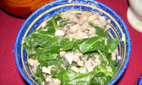 Black Eyed Peas And Greens – Recipes Collard Greens Vegetarian
