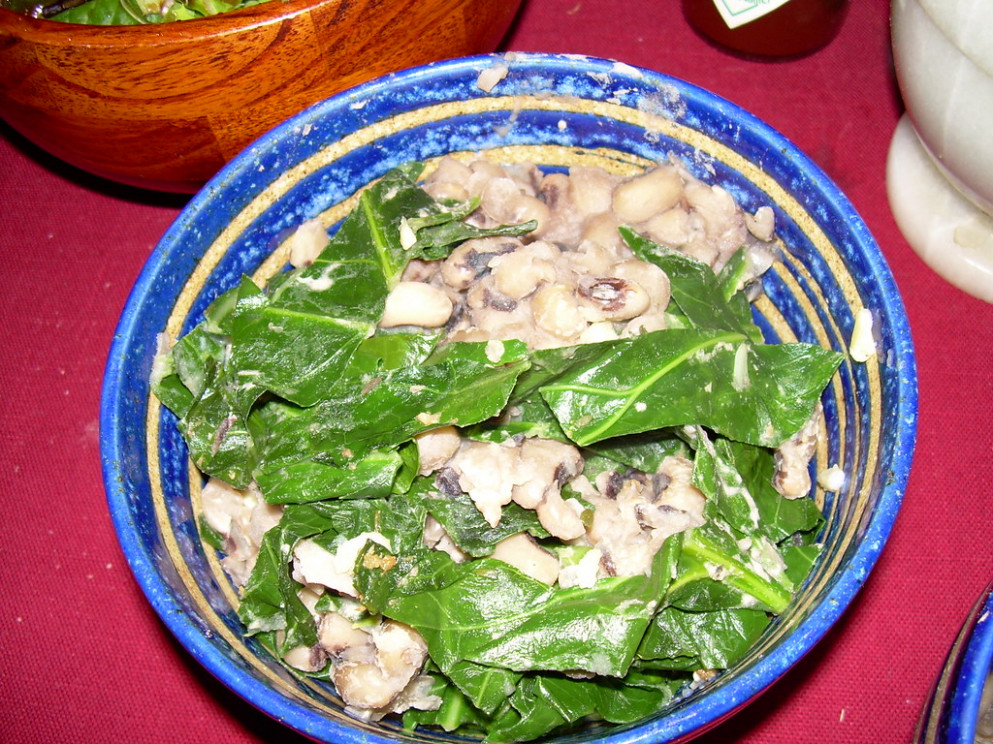 black eyed peas and greens - recipes collard greens vegetarian