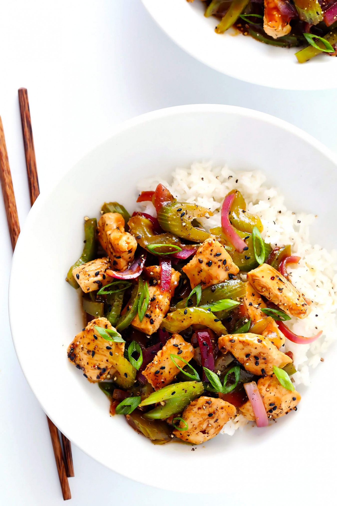 Black Pepper Chicken - Recipes Chinese Food