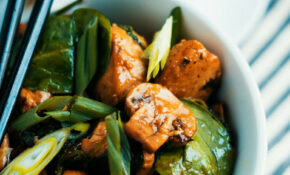 Black Pepper Chicken Stir-Fry Recipe